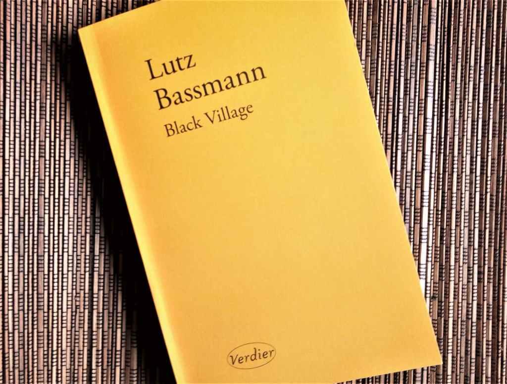 Black village de Lutz Bassmann aux éditions Verdier