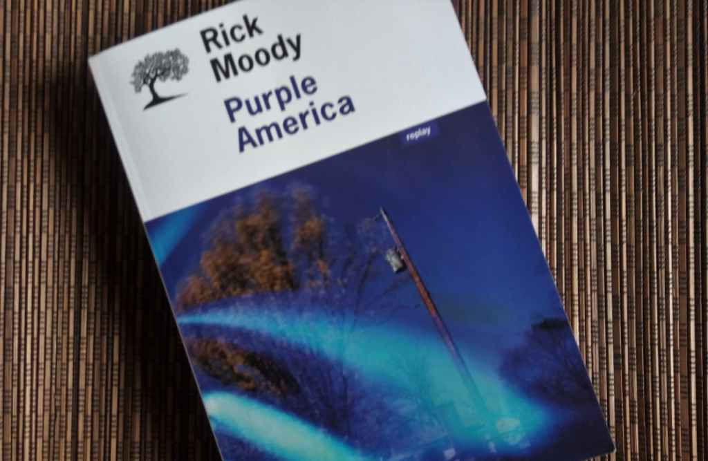 Purple America de Rick Moody, éditions de l'Olivier