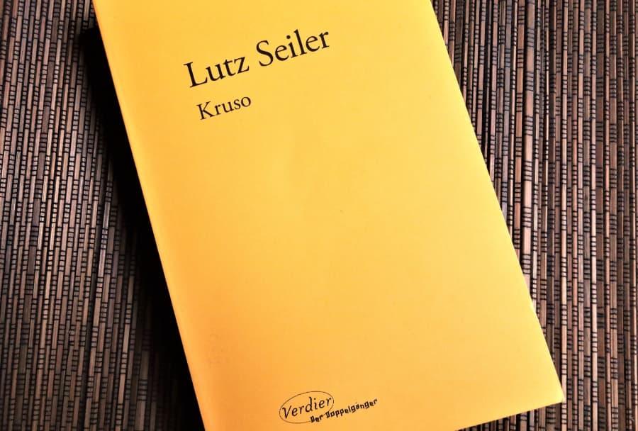 livre Kruso de Lutz Seiler éditions Verdier