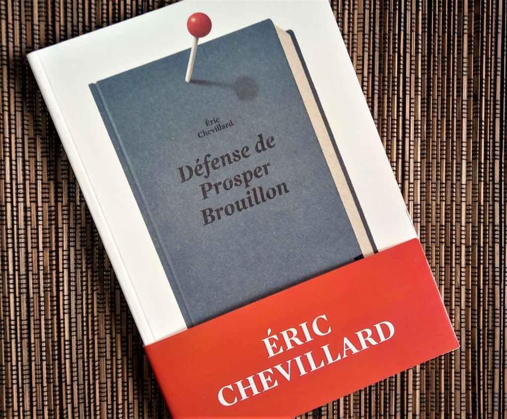 Défense de Prosper Brouillon d'Eric Chevillard, éditions noir sur blanc