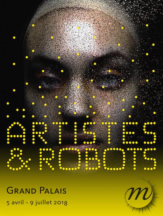 artistes et robots - affiche