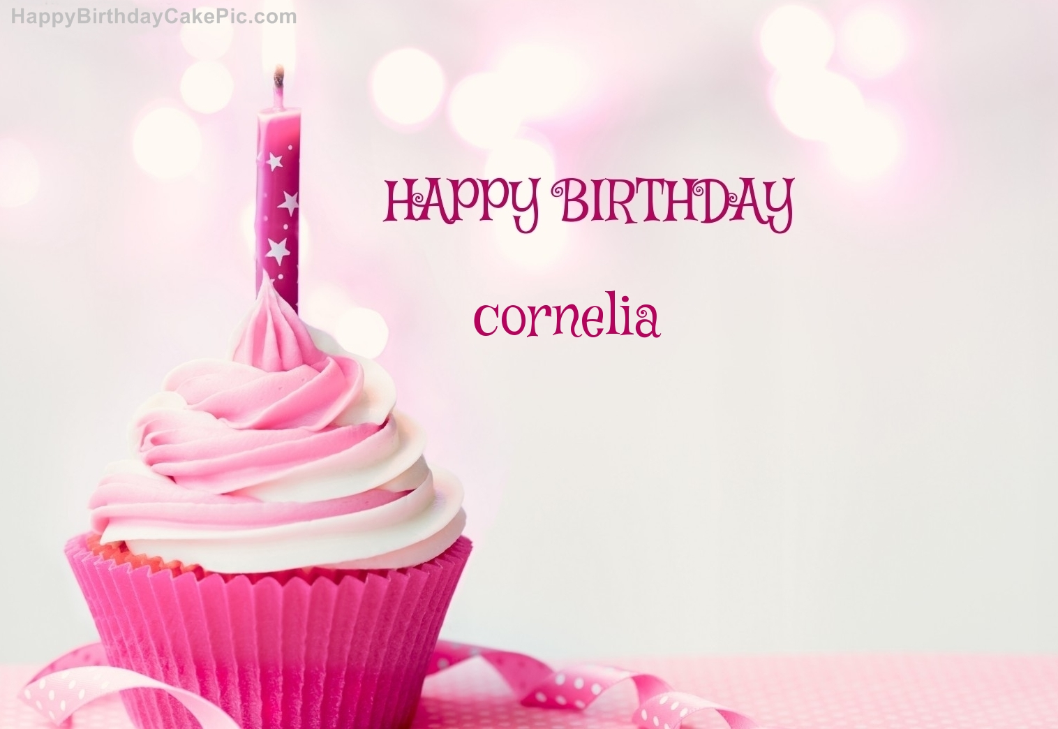 happy birthday cornelia