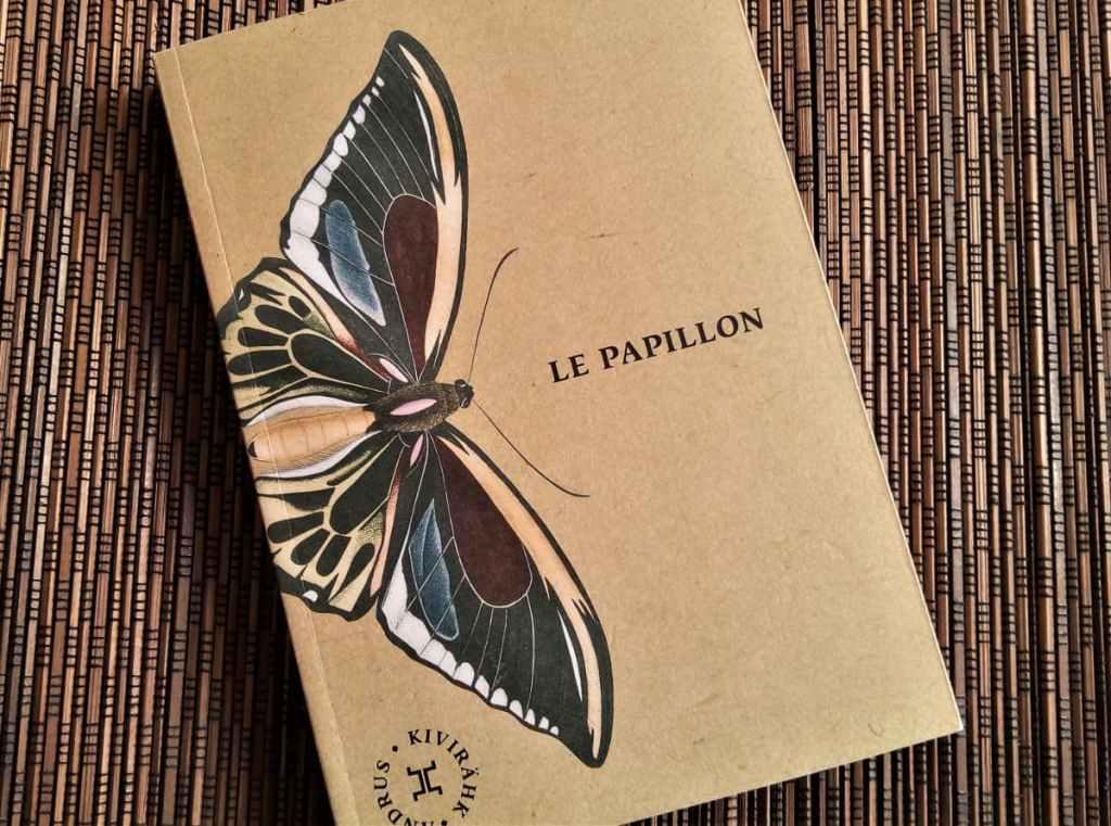 livre le papillon d'andrus kivirahk éditions le tripode
