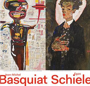 Basquiat Schiele - affiche