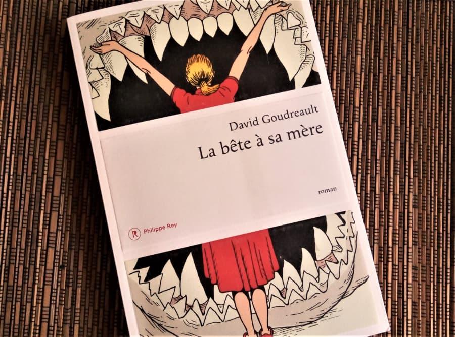 livre la bête à sa mère de David Goudreault, aux Editions Philippe Rey