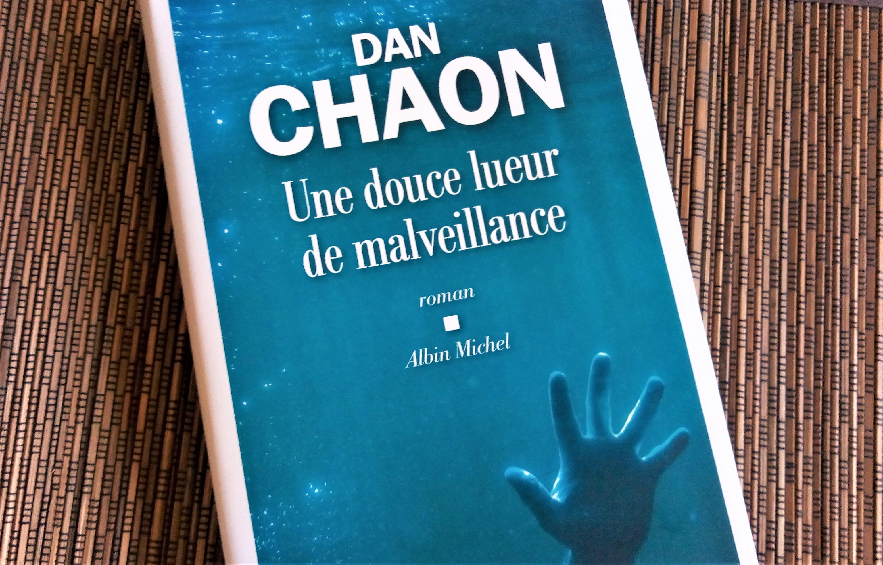 Couverture du livre 'Une douce lueur de malveillance' ; on voit la main tendue d'une personne qui semble en train de se noyer