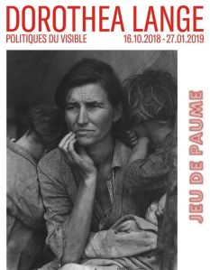 Dorothea Lange - affiche