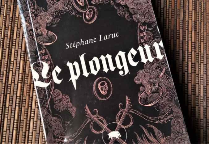 livre le plongeur de Stéphane Larue