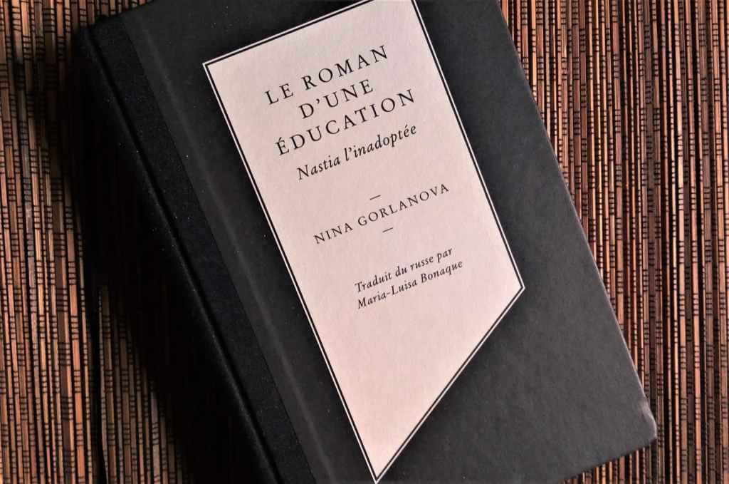 le roman d'une éducation de Nina Gorlanova chez Louison Editions