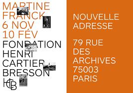Martine Franck - affiche