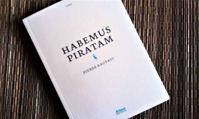 habemus pirata de Pierre raufast chez alma éditions