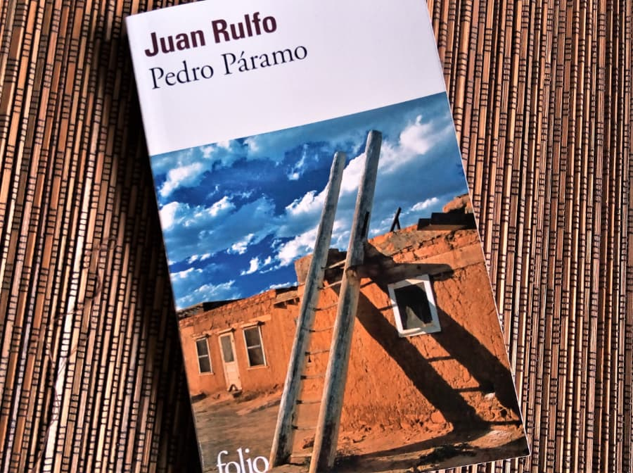 Livre Juan Rulfo de Pedro Paramo édité chez Folio