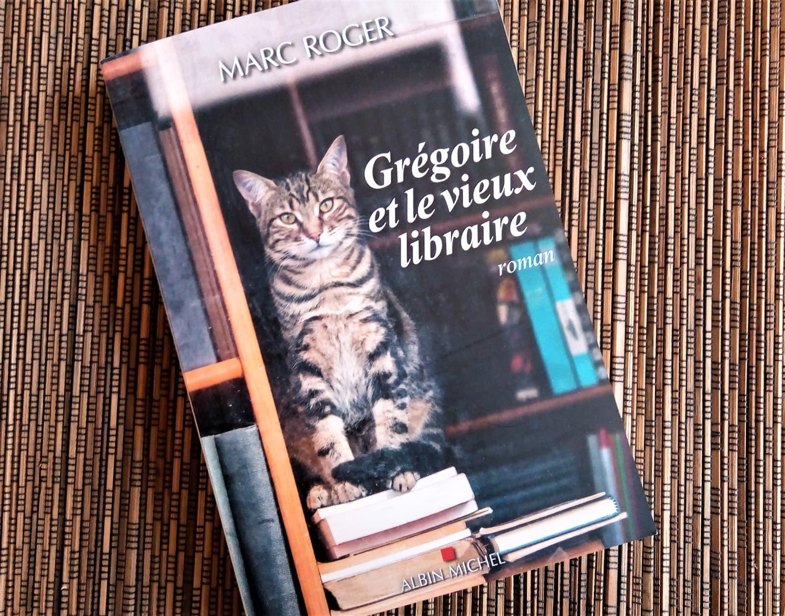 gregoire et le vieux libraire de marc roger aux éditions albin michel