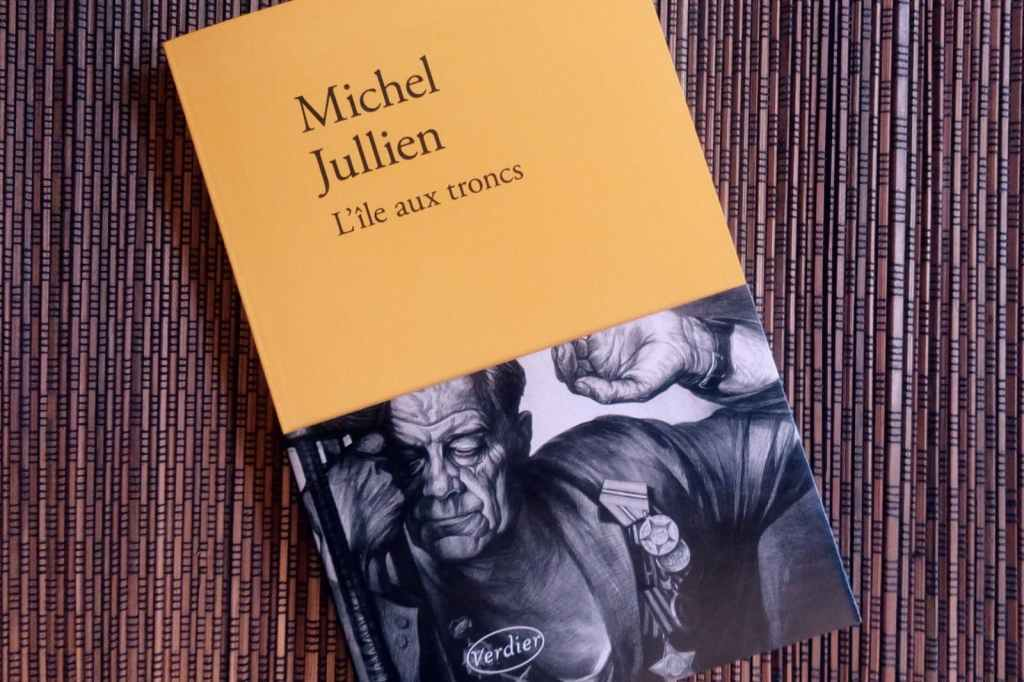 l'île aux troncs de Michel Jullien aux éditions Verdier