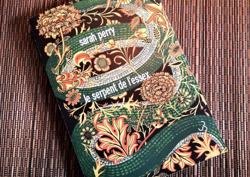 le serpent de l'essex de sarah erry, aux editions Belfond