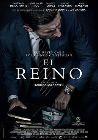 affiche du film el reino de Rodrigo Sorogoyen