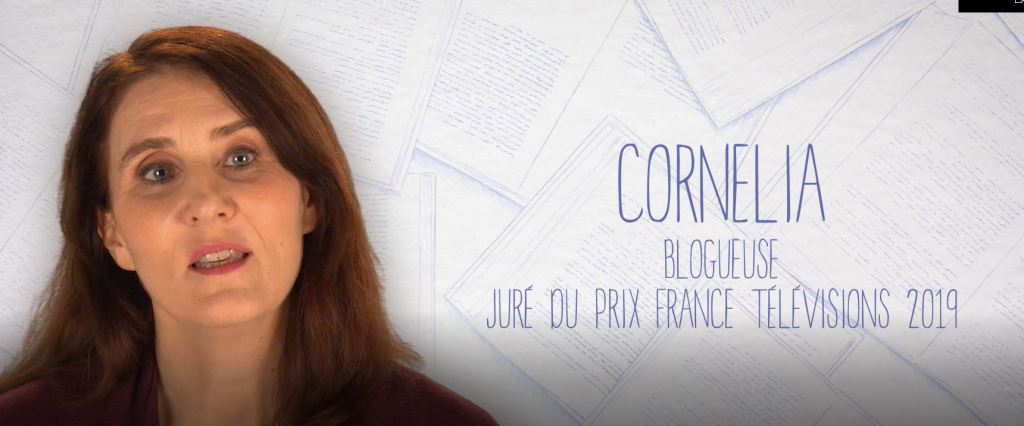 Cornelia présente l'émission 'un livre, un jour' sur France 3 le 12 avril 2019