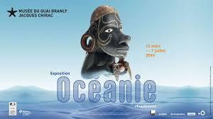 affiche exposition océanie au musée du quai Branly