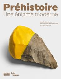 affiche de l'expo préhistoire une énigme moderne au centre pompidou