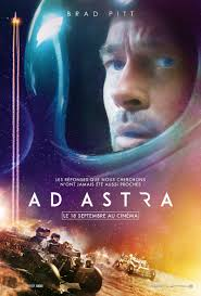 affiche du film ad astra de james gray