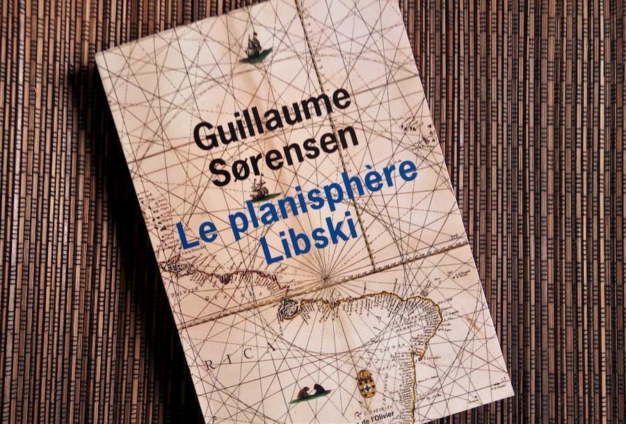 le planisphère Libski de Guillaume Sorensen, aux éditions de l'Olivier