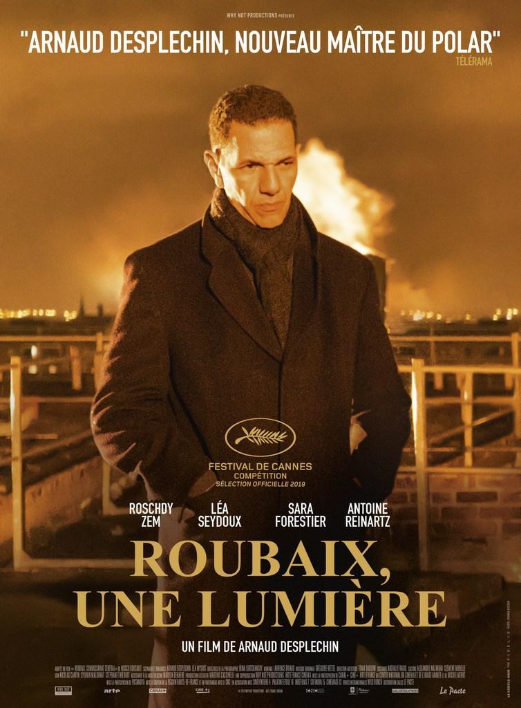 affiche du film ' Roubaix, une lumière' d'Arnaud Desplechin