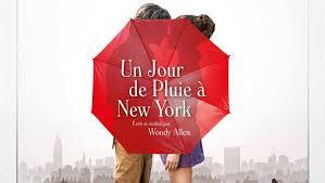 affiche du film un jour de pluie à new York de Woody Allen