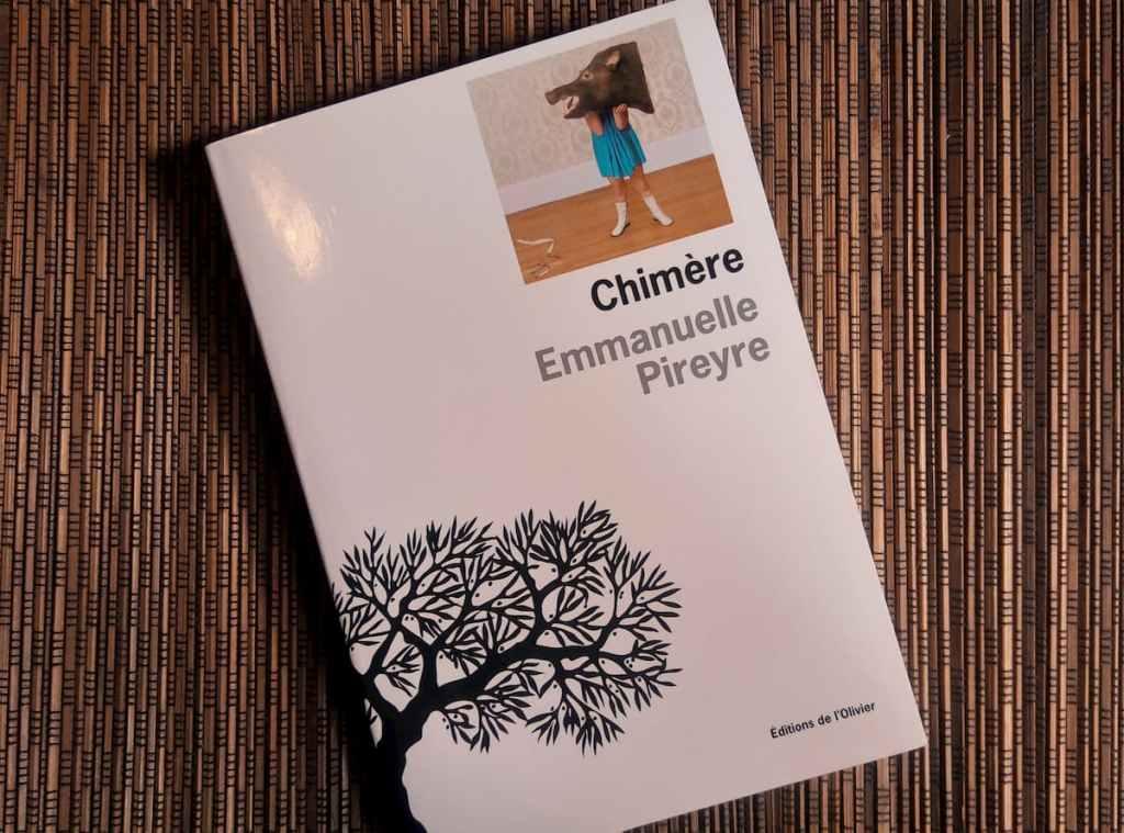 couverture du livre chimère d'Emmanuelle Pireyre aux editions de l'olivier