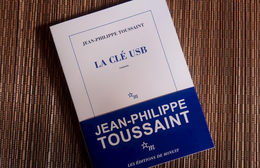 la clé USB de Jean-Philippe Toussaint aux éditions de minuit