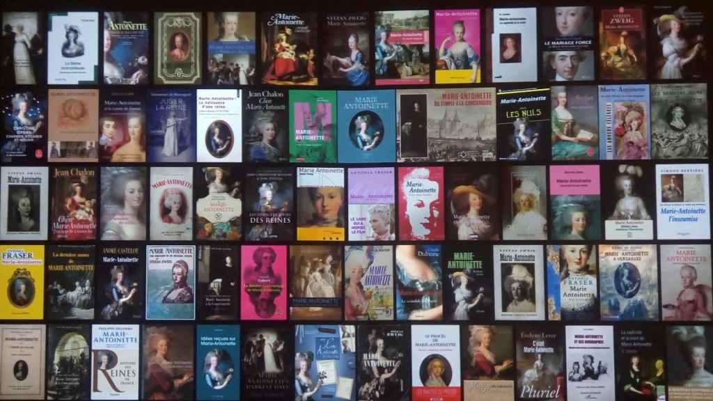 couvertures des livres sur Marie-Antoinette