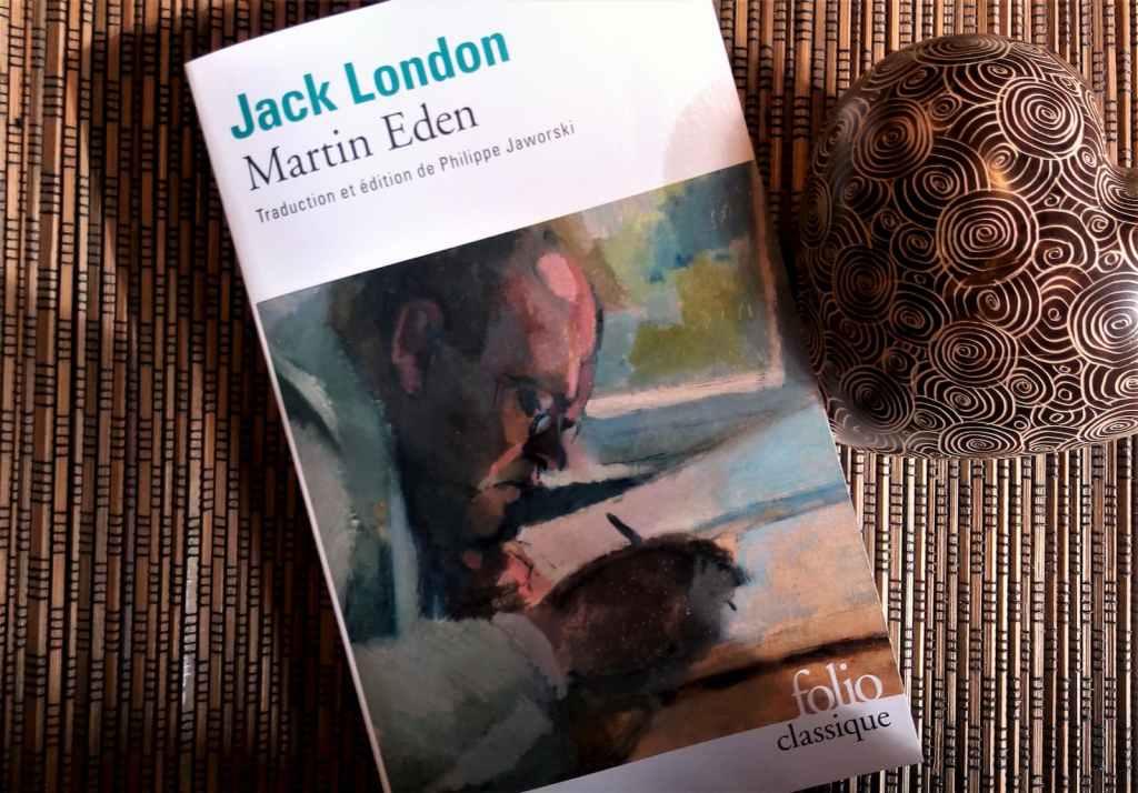 livre martin eden de jack London aux editions folio classique traduction phlippe jaworski