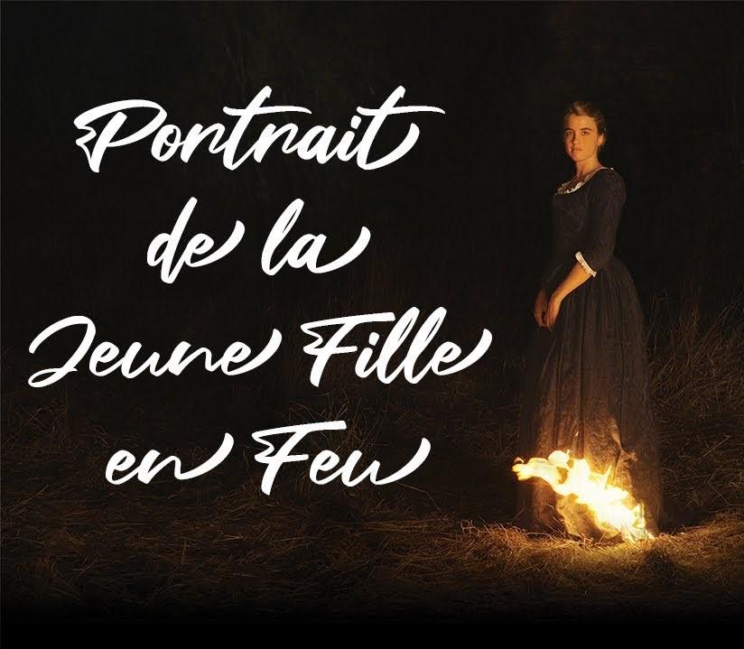 affiche du film 'portrait de la jeune fille en feu' de Céline Sciamma